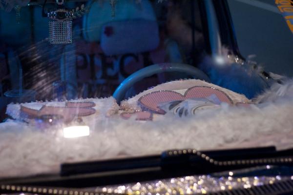 Taiwan Puff Car Dashboard