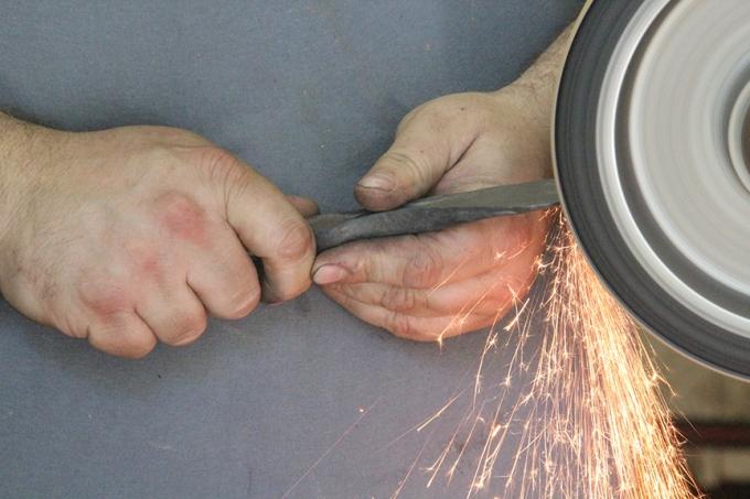 Grinding Hands