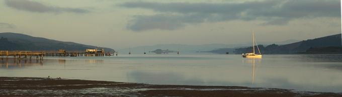 Panoramic of Bodega Bay