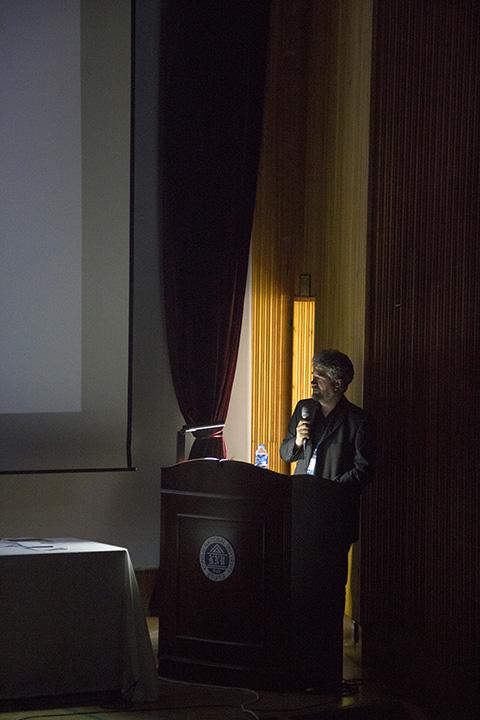 Art Professor, Dr. Istvan Eross