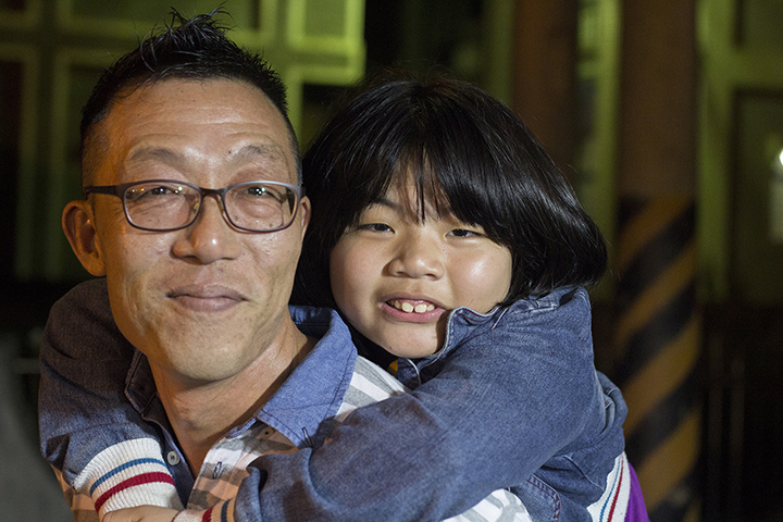Taiwan - Father and Daughter