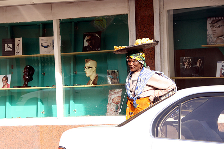 Banana Selling Old Woman