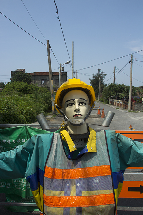Taiwan - Road Construction Dummy