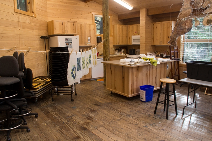cooking and hanging area