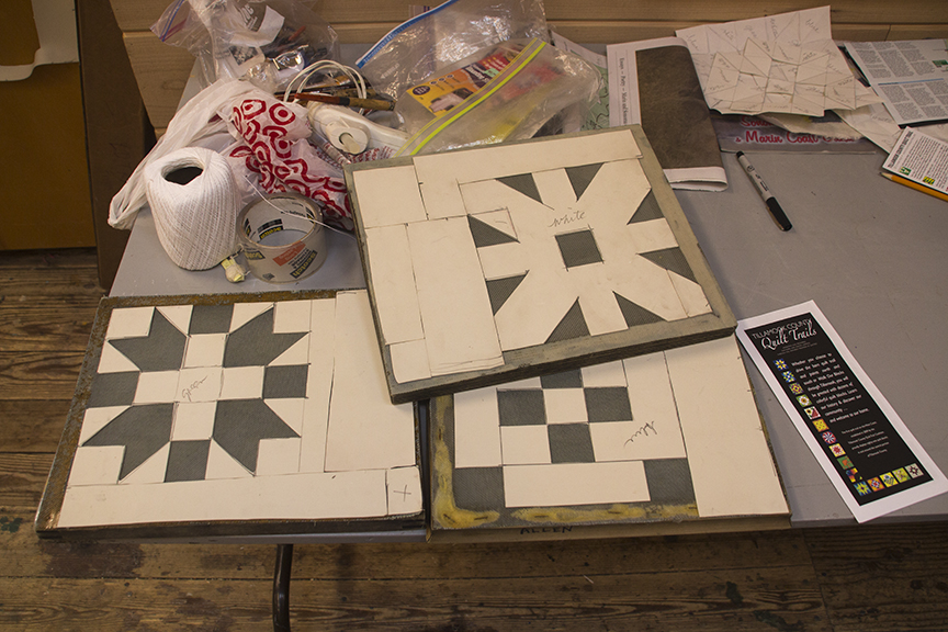 frames for making quilt patterns
