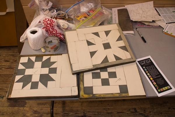 frames for making quilt patterns