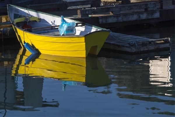 Girabaldi Yellow Boat