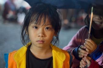 Taiwan Girl Staring