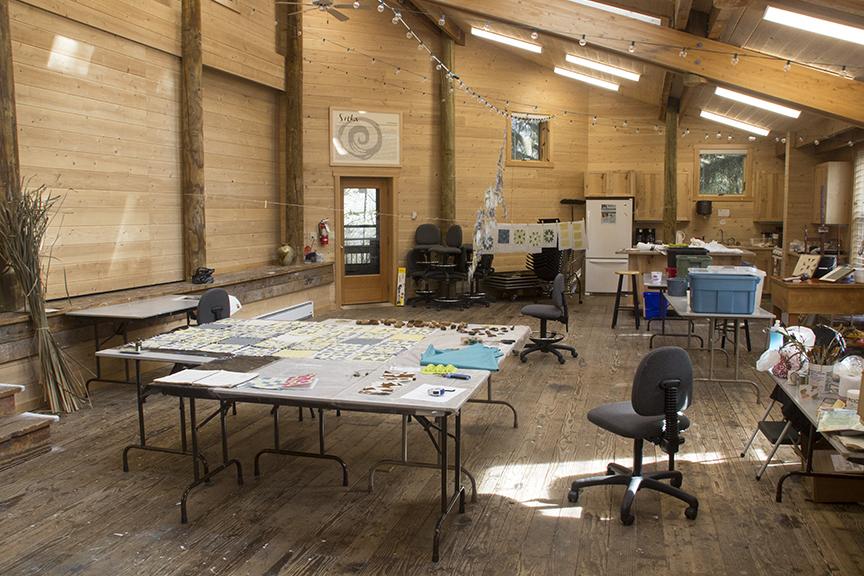 Jane's studio