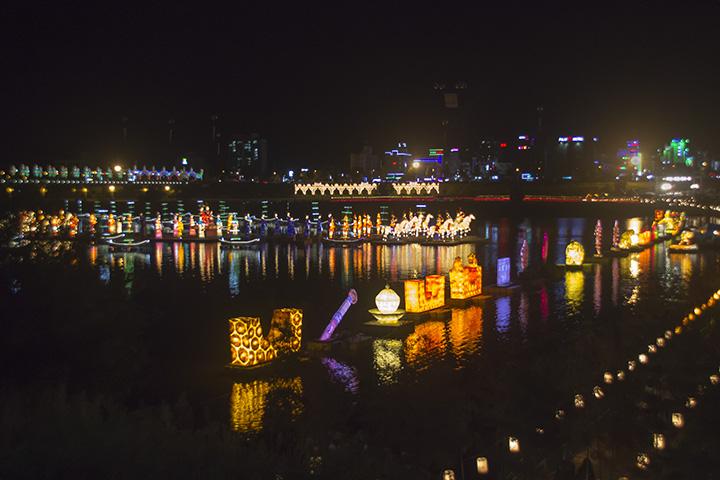 Lanterns a Far View