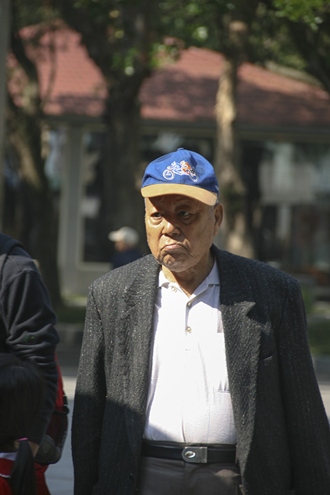 Taiwan - Man with a Blue Hat