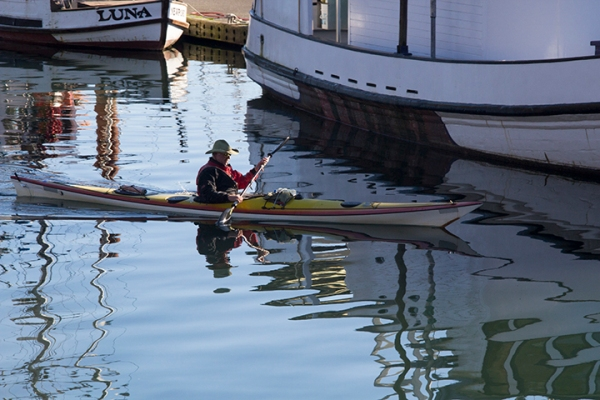 Newport Harbor Kayaker-small-0028