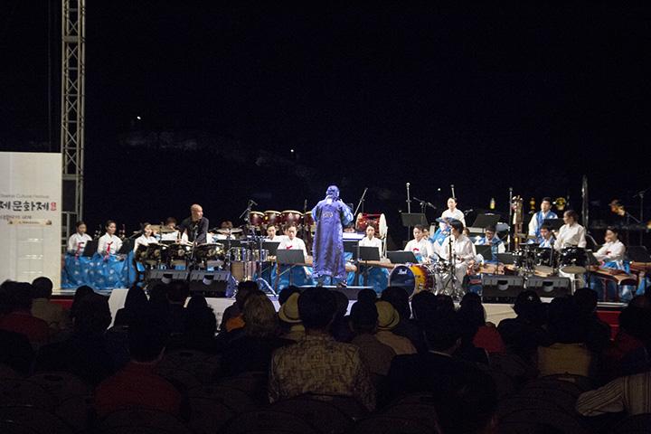 Outdoor Drumming Concert