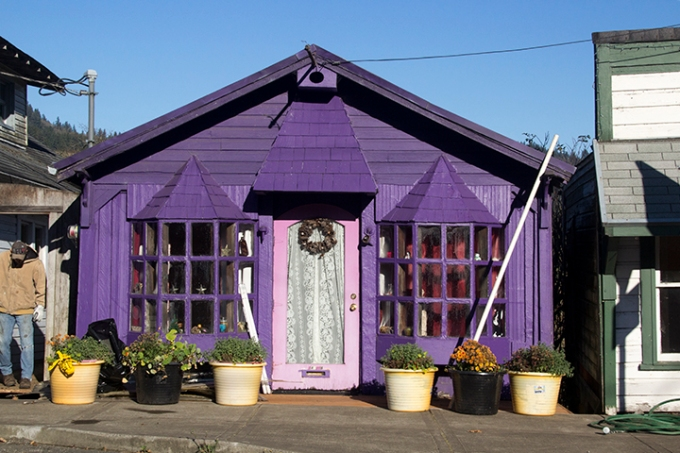 Purple House-Cloverdale OR
