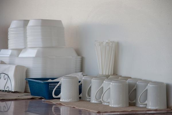 Restaurant Coffee Service Set up