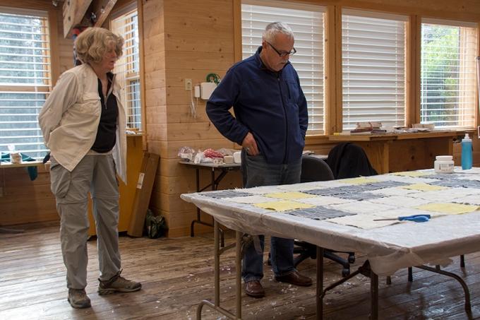 Tom Crawford visiting Jane
