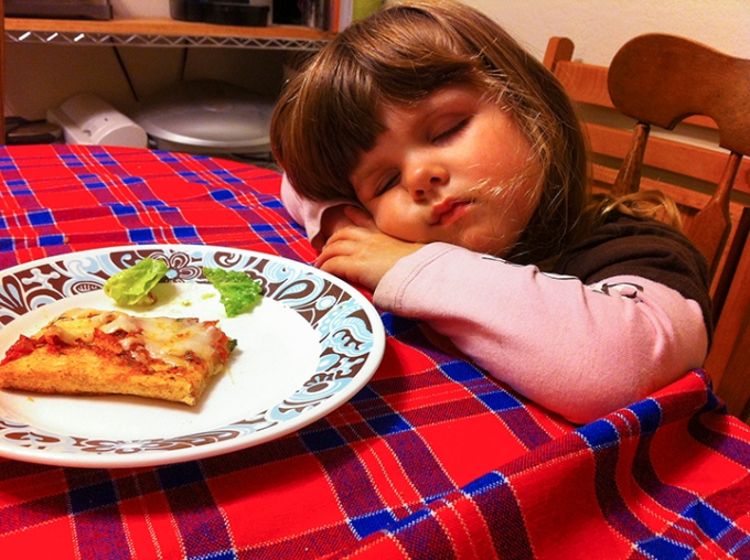 Too Tired to Eat