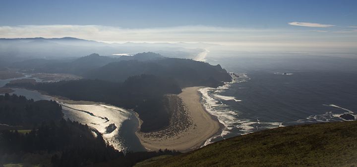 View of Ocean from Cascade Head-