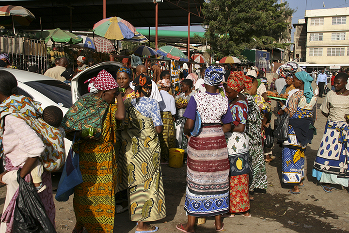 Women at a Day Market