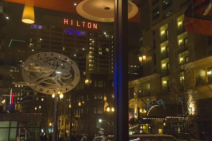Portland Downtown Night
