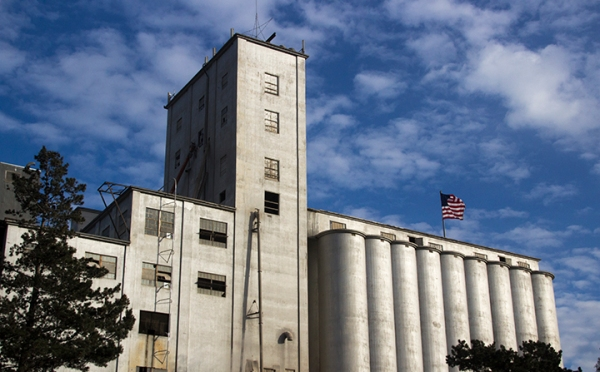 Petaluma grain elevator