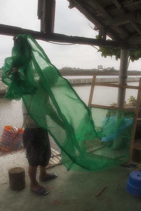 repairing a net