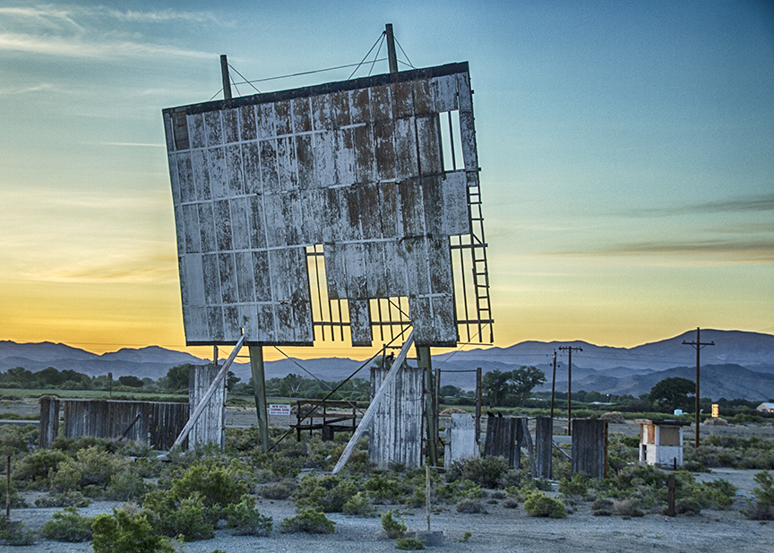 Abandoned Drive in Theater, Yurington, Nevada