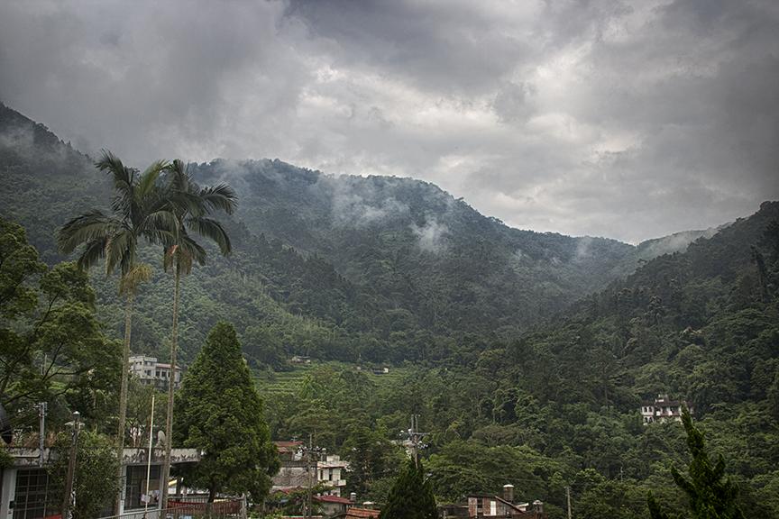 Hua Yuan -mountains