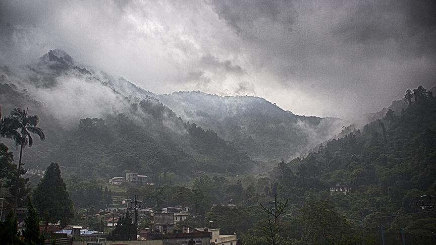 Rain over Hua Yuan - May