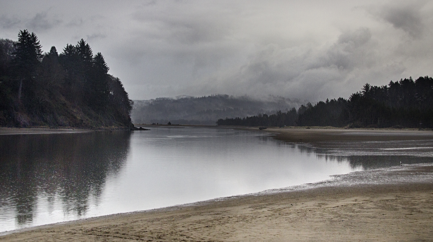 Salmon River Estuary Oregon