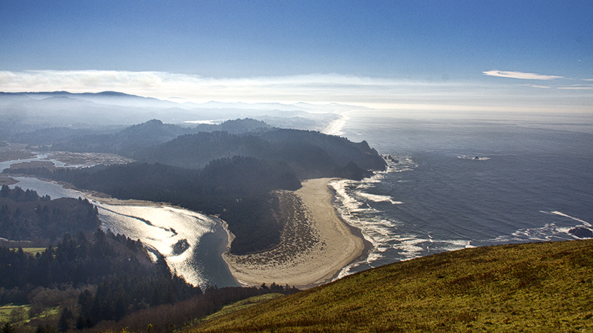 View from Cascade Head, Oregon