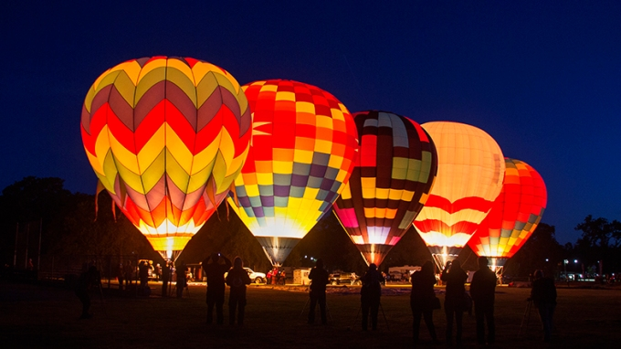 Sonoma County Hot Air Balloon Classic 2014
