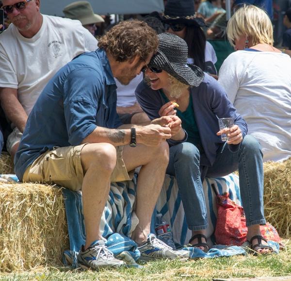 Enjoyment at the Cotati Jazz Festival 2014