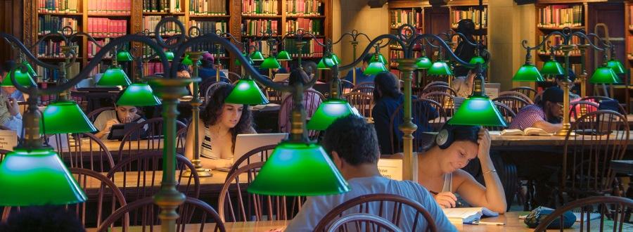 Boston Public Library Reading Room, Boston, MA, USA