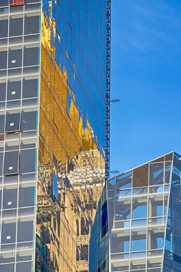 The Reflection of the New York Life Building, Early Morning, New York City, 2014
