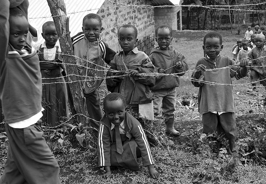 School Children - Arusha, Tanzania, 2009