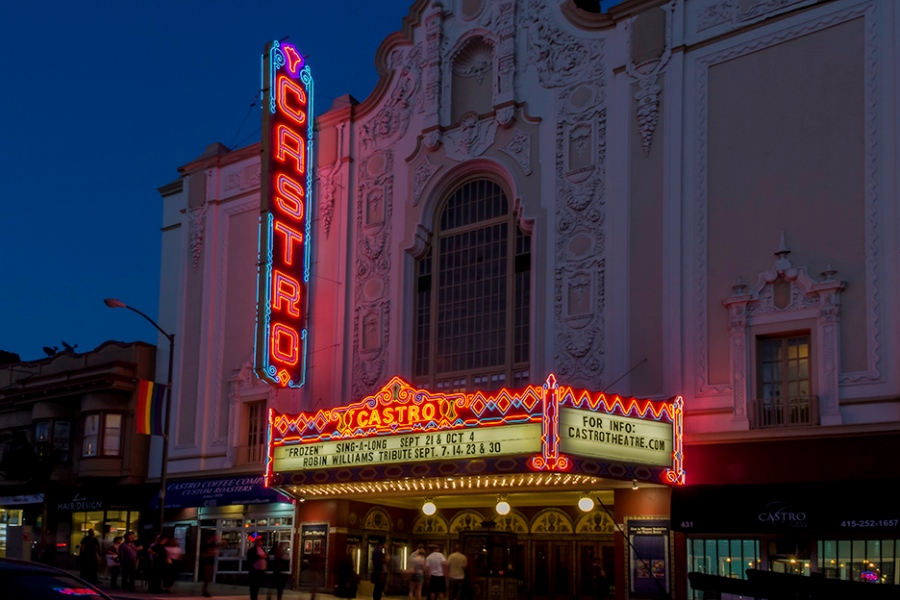 The Castro Theater, San Francisco, California, 2014