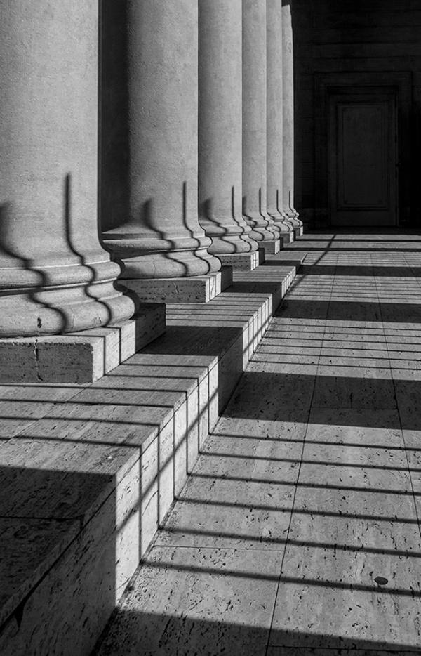 Columns at the Legion of Honor, San Francisco, California, 2014