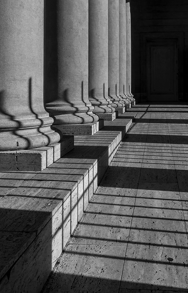 Columns at the Legion of Honor, San Francisco, California, 2014