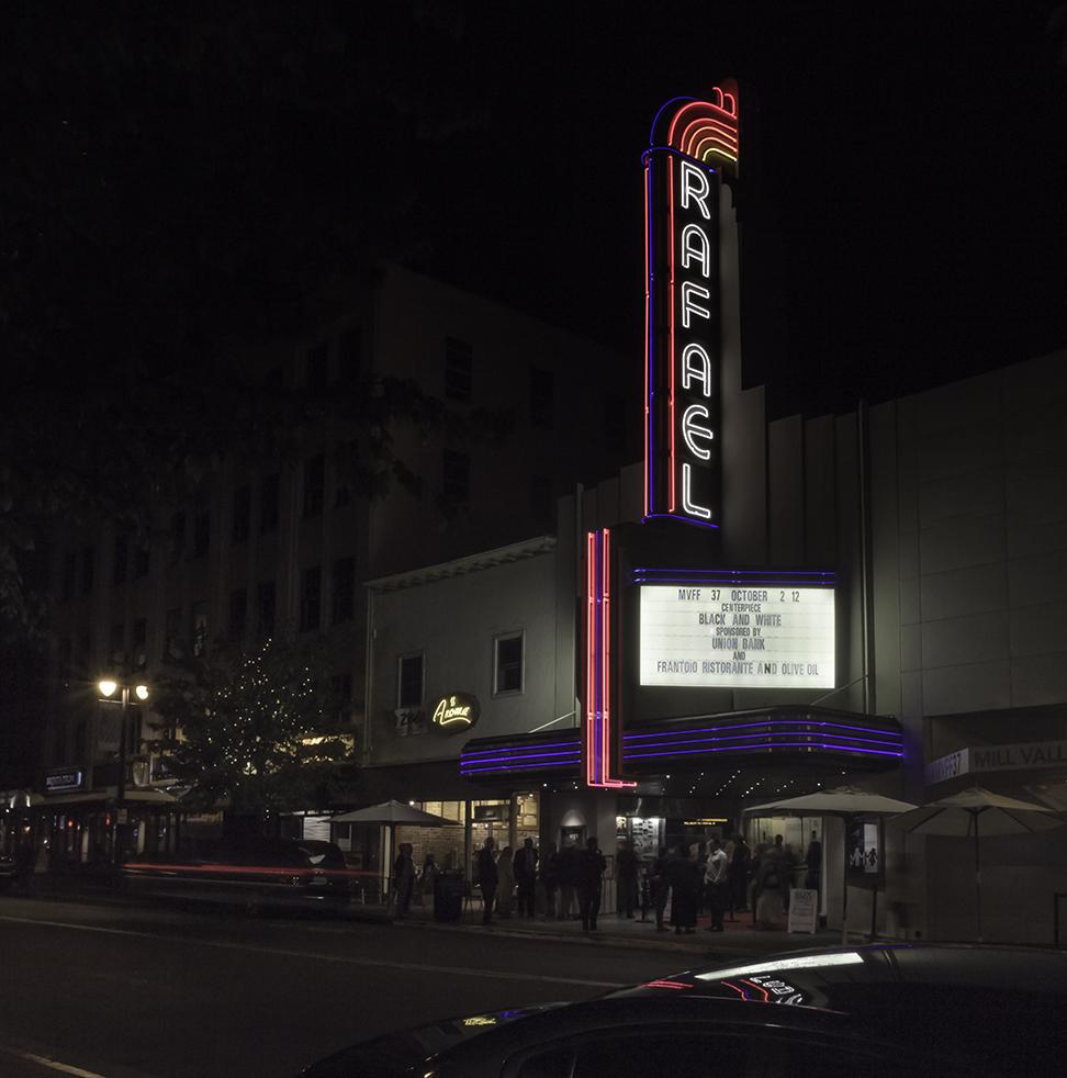 Rafael Theater, San Rafael, CA, 2014