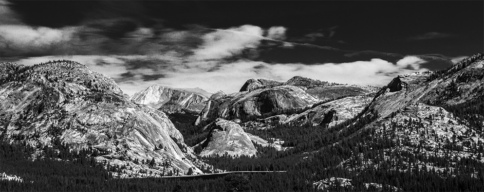 Photographed from Olmsted Point, Yosemite National Park, CA, U.S.A., 2014
