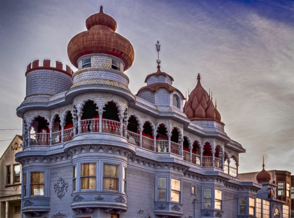 The Vedanta Temple, San Francisco, CA, February 2015. It is currently under construction. For more on the Temple see http://www.sfcityguides.org/public_guidelines.html?article=292&submitted=true&srch_text=&s..