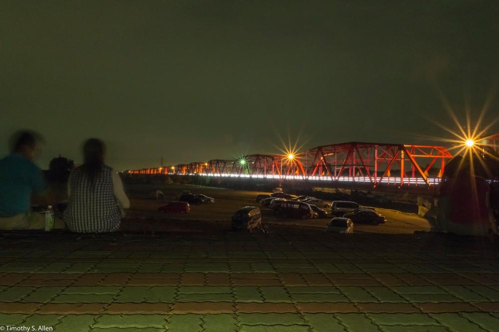 Xiluo Bridge, Xiluo, Taiwan April 19, 2015, 7:25 PM