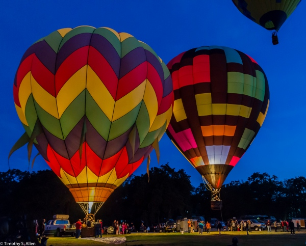 Sonoma County Hot Air Balloon Classic Windsor, California, USA June 20, 2015