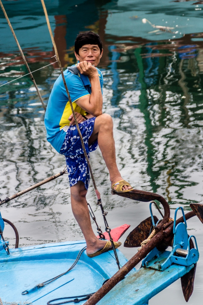 Balouzi Fishing Harbor Keelung, Taiwan June 6, 2015