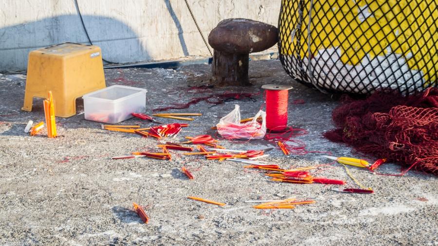 Badouri Fishing Harbor, Keelung City, Taiwan May 15, 2015