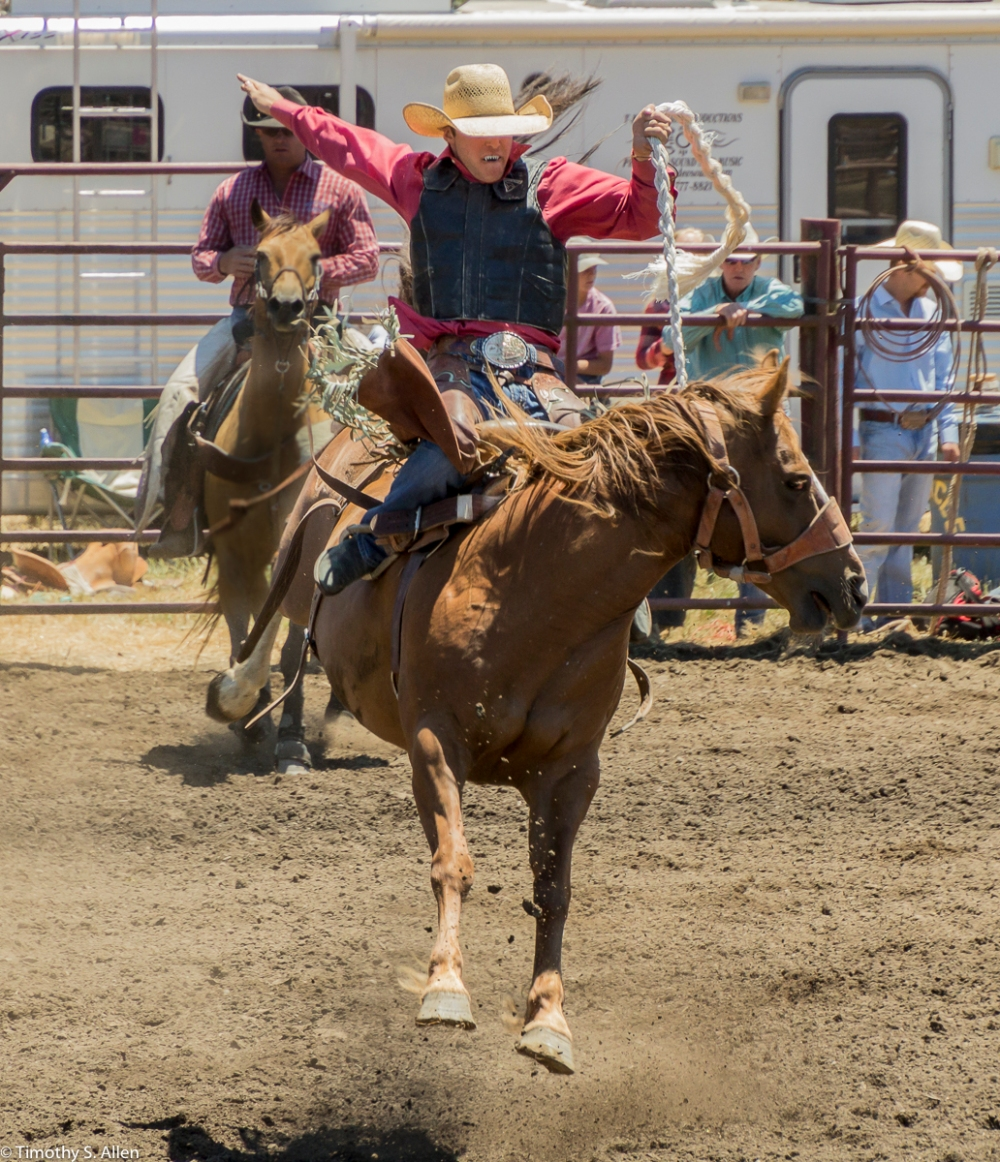 Russian River Rodeo and Parade Duncan Mills, California, USA June 28, 2015