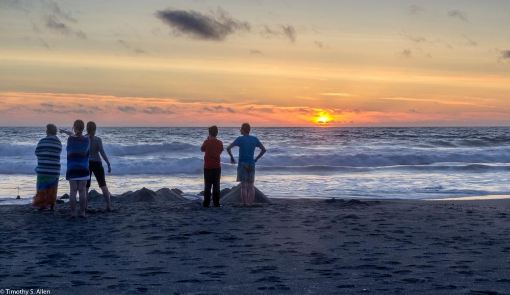 Neskowin Beach, Oregon, USA July 13, 2015