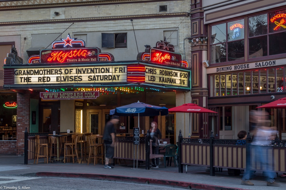Originally built in 1911, this former movie theater is now a venue for live music. Contributed by Lost Memory