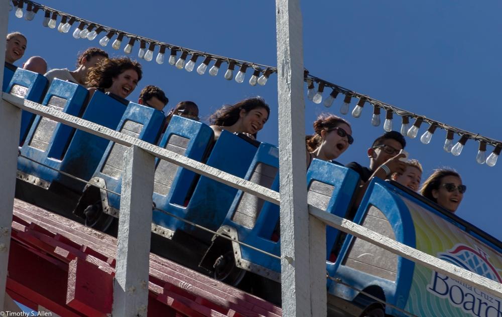 Santa Cruz Boardwalk, Santa Cruz, CA, USA August 11, 2015